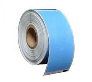Picture of Thermal Transfer Blue 101mm x 149mm 76mm core  1 across Label 1,000per roll