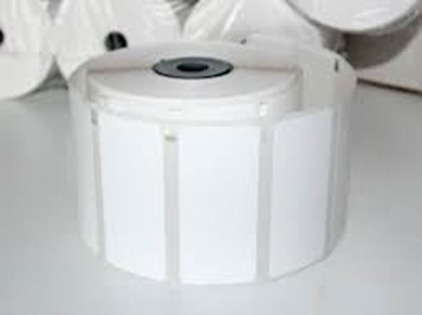 Picture of Thermal Transfer 100mm x 123mm 76mm core 1 across Label 1,000per roll. Price on Application