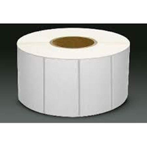 Picture of Thermal Transfer 101mm x 73mm 38mm core 1 across Label 500per roll. Price on Application