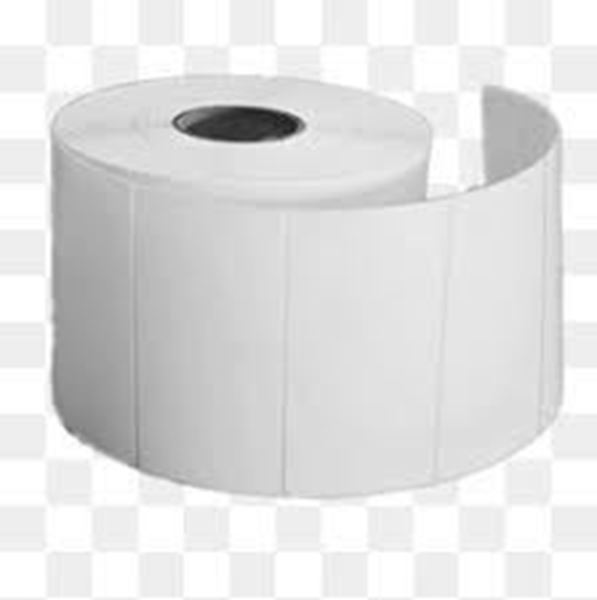 Picture of Thermal Direct 101mm x 73mm 38mm core 1 across Label 500per roll. Price on Application
