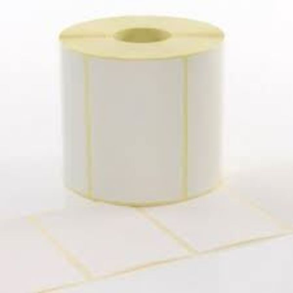 Picture of Thermal Transfer 100mm x 98mm 76mm core 1 across Label 1,000per roll. Price on Application
