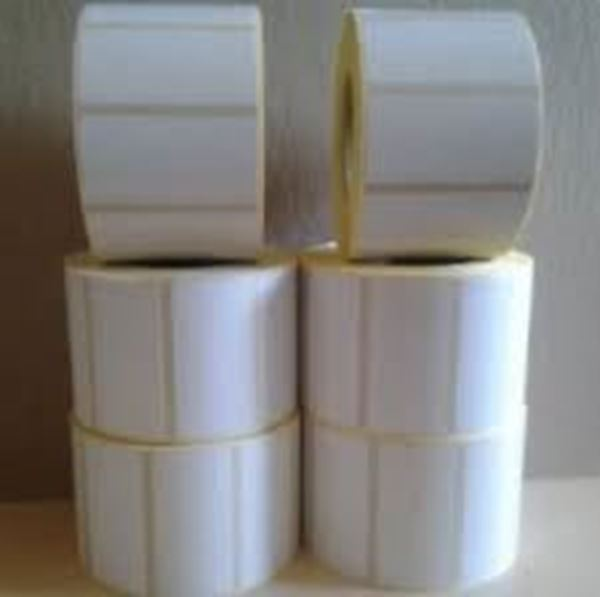 Picture of Gloss 101mm x 123mm 38mm core 1 across Label 250per roll